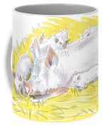 Pig Sow And Piglets Coffee Mug