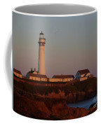 Pigeon Point Lighthouse At Sunset Coffee Mug
