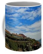 Pigeon Point Lighthouse Painted Coffee Mug