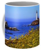 Pigeon Point Lighthouse Panoramic Coffee Mug