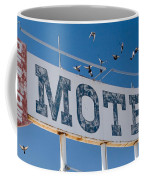 Pigeon Roost Motel Sign Coffee Mug