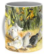 Pigeons In Benidorm Coffee Mug