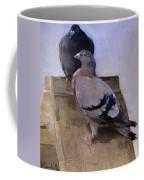Pigeons On The Roof Coffee Mug