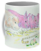 Pigs Cartoon Coffee Mug