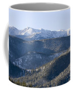 Pike National Forest In Snow Coffee Mug