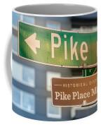Pike Place Market Sign Coffee Mug