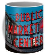 Pike Place Public Market Seattle Coffee Mug