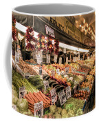 Pike Place Veggies Coffee Mug
