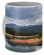 Pikes Peak From Crystal Creek Reservoir  Coffee Mug