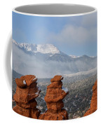Pikes Peak In The Clouds Coffee Mug