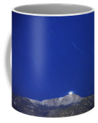 Pikes Peak Under The Stars Coffee Mug