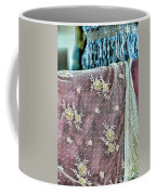 Pilar Sainz From Her Studio Lace And Velvet Coffee Mug