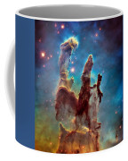 Pillars Of Creation In High Definition - Eagle Nebula Coffee Mug