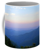 Pilot Mountain In Pisgah National Forest Coffee Mug