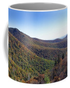 Pilot Mountain Near Balsam Grove Coffee Mug