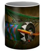 Pilot - Plane - German Ww1 Fighter - Fokker D Viii Coffee Mug by Mike Savad