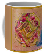 Pin Stripe City Coffee Mug by Deborah Benoit
