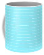Pin Striped Coffee Mug