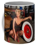 Pin Up Girl Coffee Mug
