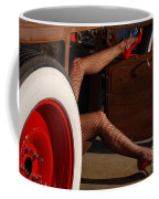 Pin Up Legs In Red Heels  Coffee Mug
