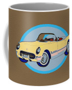 Pin Up Vette Coffee Mug