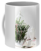 Pine Branches Birdcage Coffee Mug