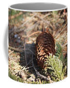 Pine Cone And Small Branch Coffee Mug