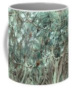 Pine Cones And Lace Lichen Coffee Mug
