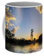 Pine Tree At Sunset Coffee Mug