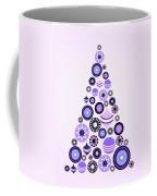 Pine Tree Ornaments - Purple Coffee Mug