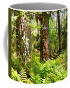 Pine Trees And Ferns Coffee Mug