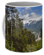 Pine Trees In The Rocky Mountain National Park Coffee Mug