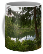 Pine Trees Over Starvation Lake Coffee Mug