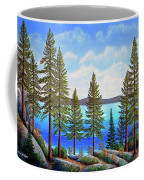 Pine Woods Lake Tahoe Coffee Mug