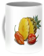 Pineapple And Habanero Peppers  Coffee Mug