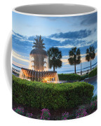 Pineapple Fountain Charleston South Carolina Sc Coffee Mug