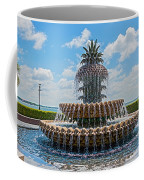 Pineapple Fountain Coffee Mug