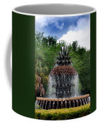 Pineapple Fountain Coffee Mug by Skip Willits