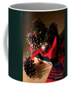 Pinecones Christmasbox Coffee Mug
