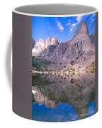 Pingora Peak On Lonesome Lake Coffee Mug