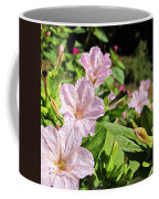 Pink 4 O'clocks Coffee Mug