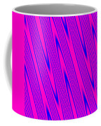 Pink And Blue Abstract Coffee Mug