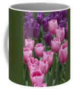 Pink And Purple Dutch Tulips Coffee Mug