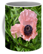 Pink And Purple Poppy Coffee Mug