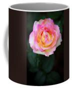 Pink And Yellow Rose Coffee Mug