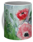 Pink Anemones Coffee Mug
