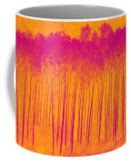 Pink Aspen Trees Coffee Mug