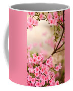 Pink Azalea Bush Coffee Mug