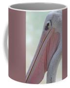 Pink Backed Pelican Coffee Mug