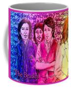 Pink Beatles From Rainbow Series Coffee Mug